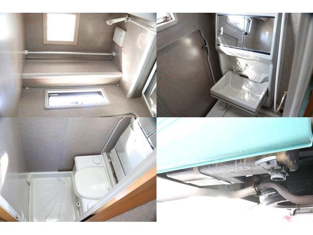 トヨタ カムロード バンテック製 ジル FF ボイラーシャワートイレリアクーラー