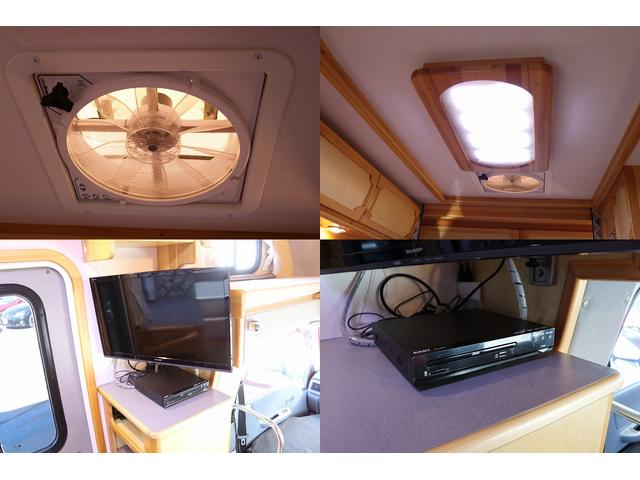 MAXFAN LED証明 24型リアTV DVDプレーヤー