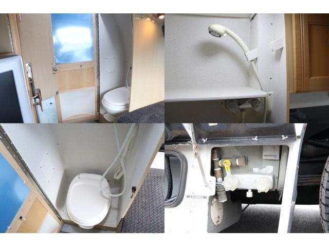 ロードトレック170 ポピュラー 発電機 ルーフAC トイレ(10枚目)