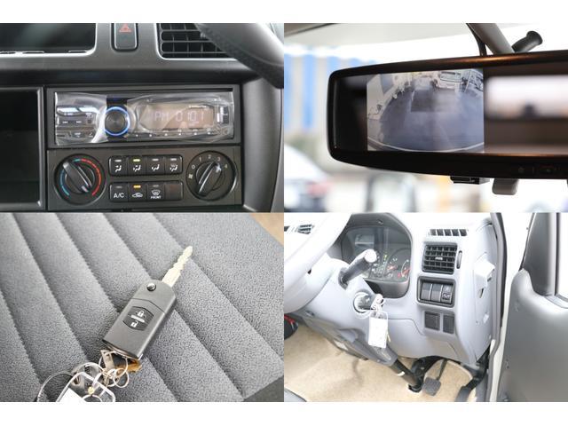 CDデッキ ミラー型バックカメラ キーレス