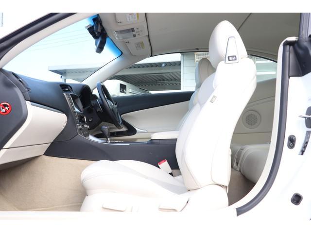 IS250C バージョンL 禁煙車 プリクラッシュセーフティ 純正HDDナビ 白革エアシート 電動オープン ドライブレコーダー パドルシフト クリアランスソナー  GPSレーダー(12枚目)