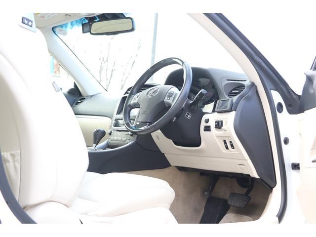 IS250C バージョンL 禁煙車 プリクラッシュセーフティ 純正HDDナビ 白革エアシート 電動オープン ドライブレコーダー パドルシフト クリアランスソナー  GPSレーダー(41枚目)