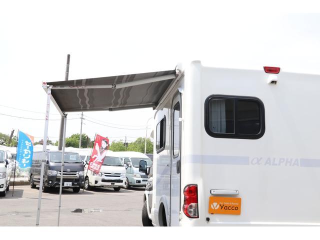AtoZ アルファ タイプ1 禁煙車 ナビTV Bカメラ ETC 2サブ 電圧計 1500Wインバーター 後席TV 燃料式FFヒーター MAXFAN シンク 冷蔵庫 サイドオーニング 外部充電 走行充電(24枚目)
