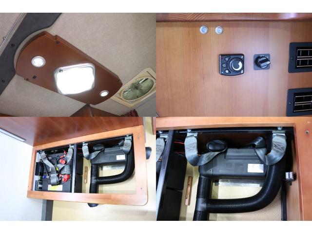 ナッツRV製 マッシュX 禁煙車 乗車6名就寝5名 ナビTV ETC バックカメラ 2サブ メインスイッチ 電圧計 12V/100V 燃料式FFヒーター 走行時リアクーラー シンク 冷蔵庫 外部電源 走行充電(7枚目)