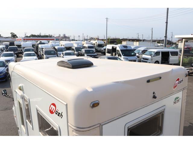 ナッツRV製 マッシュX 禁煙車 乗車6名就寝5名 ナビTV ETC バックカメラ 2サブ メインスイッチ 電圧計 12V/100V 燃料式FFヒーター 走行時リアクーラー シンク 冷蔵庫 外部電源 走行充電(26枚目)