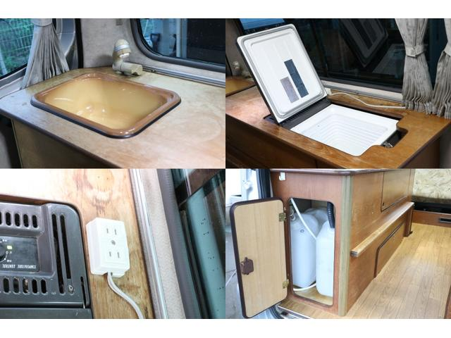 ビークル製 クッチェッタ キーレス ETC CD USB入力 サブバッテリー サブバッテリー 走行充電 外部充電 走行時リアクーラー&ヒーター シンク 冷蔵庫 遮光カーテン 照明(8枚目)