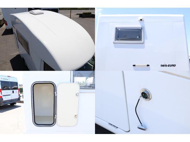 かーいんてりあ高橋製 ネオユーロ 4WD 1オーナー 常時バックカメラ ETC サブBT 電圧計 350Wインバータ― 後席TV MAXFAN シンク  外部電源 走行充電 LED照明 網戸(17枚目)