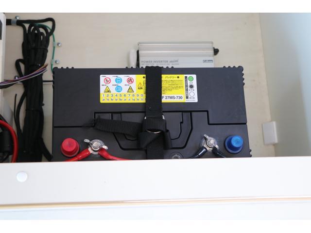 かーいんてりあ高橋製 ネオユーロ 4WD 1オーナー 常時バックカメラ ETC サブBT 電圧計 350Wインバータ― 後席TV MAXFAN シンク  外部電源 走行充電 LED照明 網戸(74枚目)