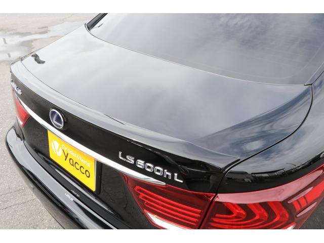 LS600hL エグゼクティブパッケージ 4名 禁煙車 モデリスタエアロ マフラー マークレビンソン リアエンタメ 黒革 サンルーフ PCS LKA BSM ドライバーモニター パワートランク 3眼LEDヘッド AHS 本革ダッシュ TOM'Sスロコン(37枚目)