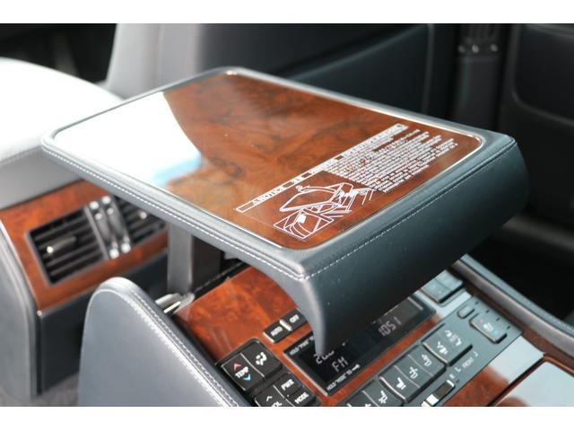 LS600hL エグゼクティブパッケージ 4名 禁煙車 モデリスタエアロ マフラー マークレビンソン リアエンタメ 黒革 サンルーフ PCS LKA BSM ドライバーモニター パワートランク 3眼LEDヘッド AHS 本革ダッシュ TOM'Sスロコン(48枚目)
