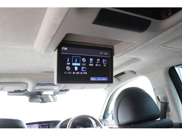 LS600hL エグゼクティブパッケージ 4名 禁煙車 モデリスタエアロ マフラー マークレビンソン リアエンタメ 黒革 サンルーフ PCS LKA BSM ドライバーモニター パワートランク 3眼LEDヘッド AHS 本革ダッシュ TOM'Sスロコン(52枚目)
