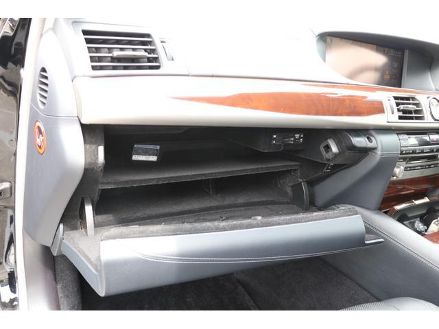 LS600hL エグゼクティブパッケージ 4名 禁煙車 モデリスタエアロ マフラー マークレビンソン リアエンタメ 黒革 サンルーフ PCS LKA BSM ドライバーモニター パワートランク 3眼LEDヘッド AHS 本革ダッシュ TOM'Sスロコン(68枚目)