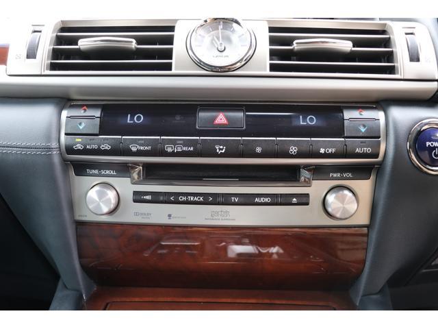 LS600hL エグゼクティブパッケージ 4名 禁煙車 モデリスタエアロ マフラー マークレビンソン リアエンタメ 黒革 サンルーフ PCS LKA BSM ドライバーモニター パワートランク 3眼LEDヘッド AHS 本革ダッシュ TOM'Sスロコン(72枚目)