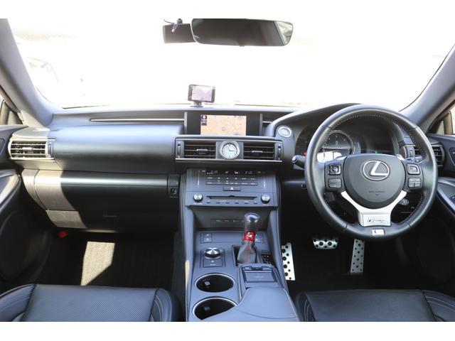 RC350 Fスポーツ 禁煙車 RCF専用19アルミ フロントカーボンスポイラー 純正ナビ PCS LDA BSM 黒革エアシート サンルーフ 3眼LEDヘッド AHS LEDフォグ ドラレコ GPSレーダー ステアリングヒータ クリアランスソナー(3枚目)