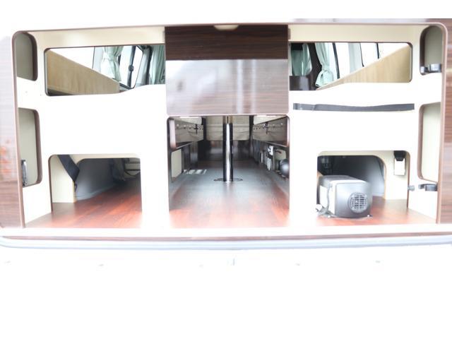 GL アネックス製 リコルソ 禁煙車 ナビTV ETC Bカメラ サブBT 電圧計 インバーター 燃料式FFヒーター 走行時リアクーラー&ヒーター シンク 冷蔵庫 サイドオーニング ソーラー 外部電源 走行充電(46枚目)