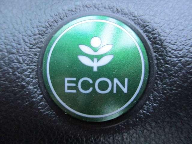 ECONボタン☆こちらを押すと、自動的に燃費がよくなる走りに切り替わります☆ガソリンの消費量が抑えられて経済的です☆