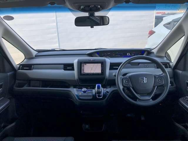 1.5 ハイブリッド G 純正ナビ エンスタ ETC ワンオーナー車 両側スライド・片側電動 スマートキー 盗難防止システム バックカメラ 横滑り防止装置 フルセグ ミュージックプレイヤー接続可 LEDヘッドランプ(6枚目)