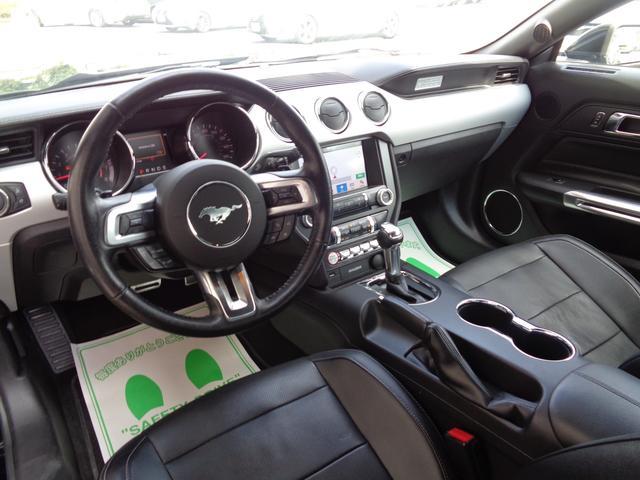 エコブースト プレミアム ポニーパッケージ SHAKER CarPlay FORGIATO20インチアルミ ローダウン パドルシフト クルコン 本革シート シートヒーター&エアシート 電動シート ETC CD スペアキー(11枚目)