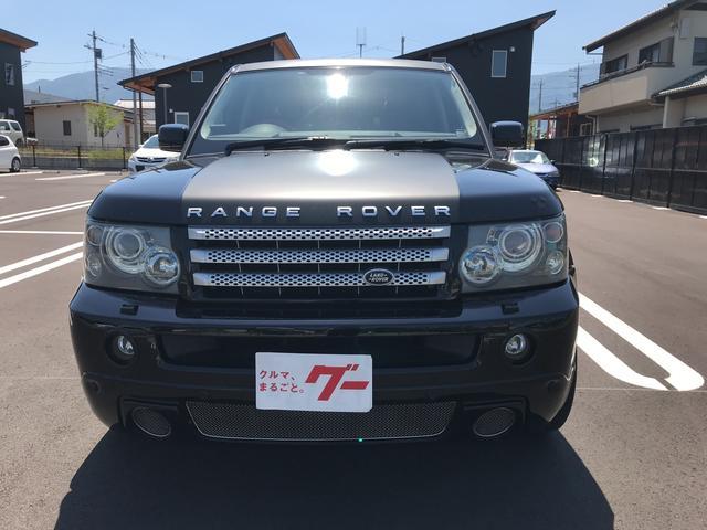 「ランドローバー」「レンジローバースポーツ」「SUV・クロカン」「山梨県」の中古車3