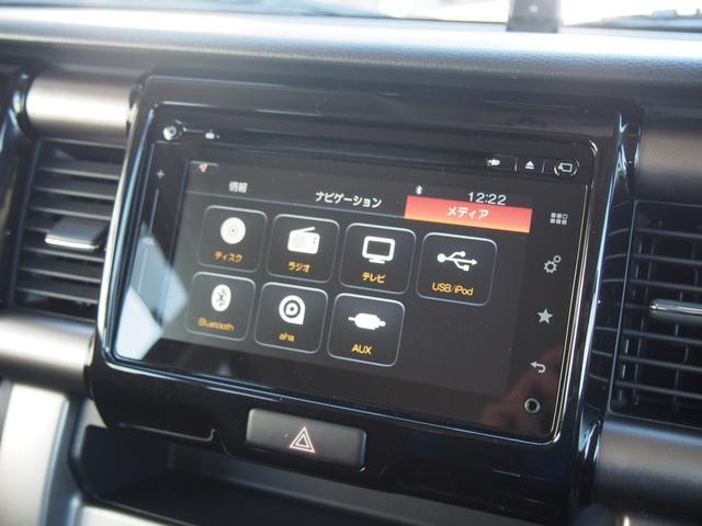 Bluetooth DVD再生、フルセグTV、など装備も充実で楽しいドライブになりそうですね♪