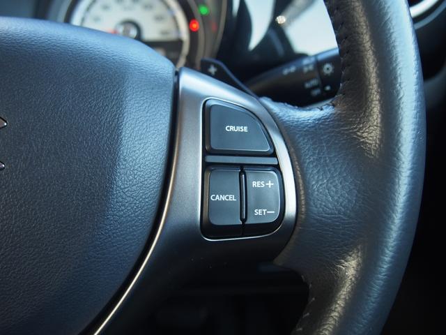 高速走行や長距離ドライブをアシストするクルーズコントロールを搭載。走行中にアクセルペダルから足を話しても一定のスピードが維持できるので、ドライバーの疲労軽減い貢献します☆