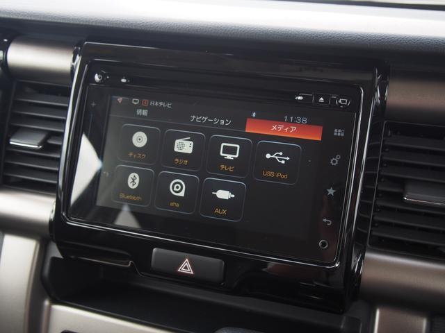 JスタイルIIターボ 全方位モニター メモリーナビ フルセグ ETC HIDライト Bluetoothオーディオ 運転席助手席シートヒーター クルーズコントロール ステアリングリモコン フォグランプ ツートン仕様(3枚目)