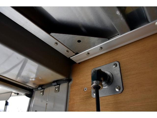 標準ボデー Wキャブ 6人乗り アルミバン サイドドア PG パワーゲート(47枚目)