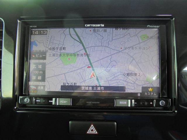 L 社外ナビ フルセグTV DVD再生 ETC 禁煙車(5枚目)