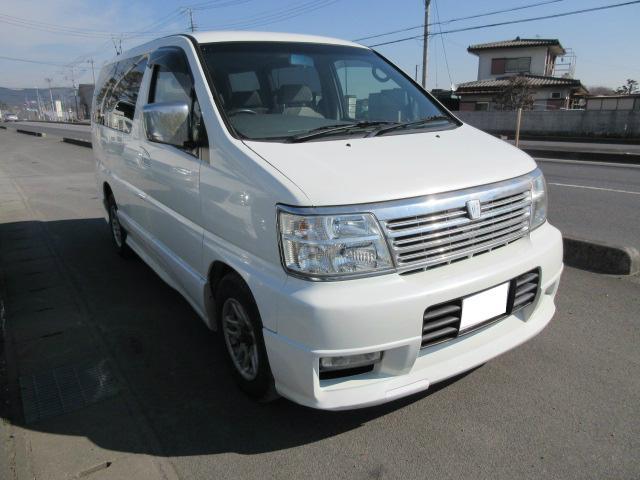 「日産」「エルグランド」「ミニバン・ワンボックス」「栃木県」の中古車2