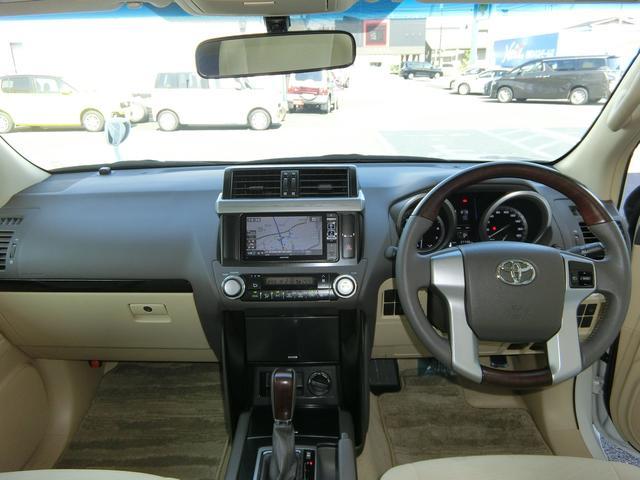 トヨタ ランドクルーザープラド TX 4WD ナビ サンルーフ 5人乗り