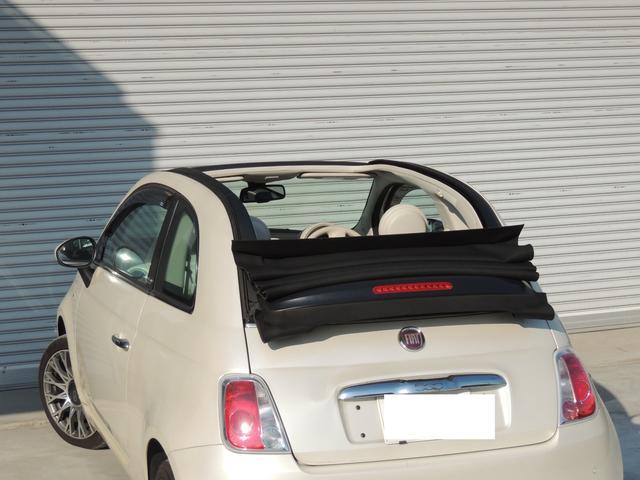 フィアット フィアット 500C 1.4 ラウンジ 電動オープンコンバーチブル ワンオーナー