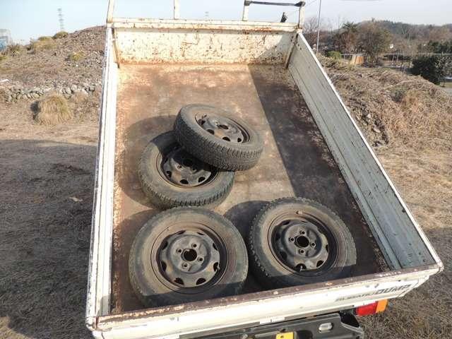 スバル サンバートラック パワステスペシャル ダンプ 4WD