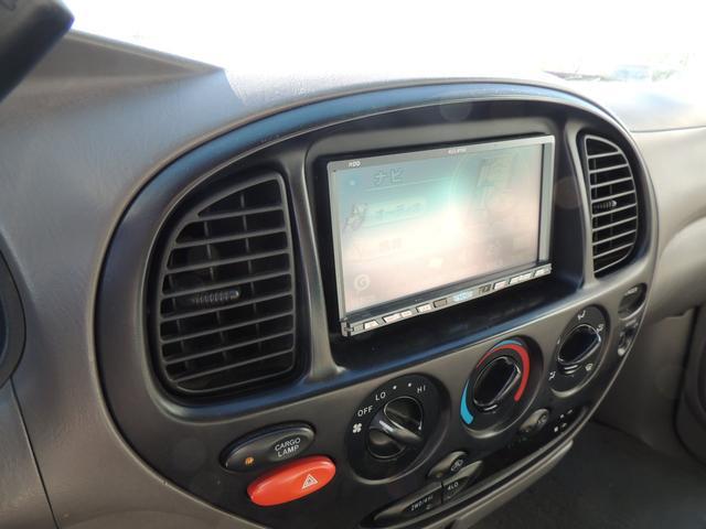 米国トヨタ タンドラ アクセスキャブ SR5 革ベンチシート 新品グリル