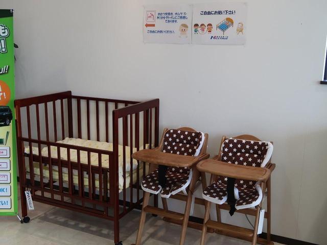 チャイルドベット・お子様椅子もございます!また紙オムツの用意もございますので何なりとお申し付けください。
