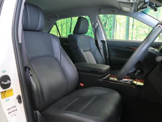 Fバージョン 禁煙車 純正OP18AW 黒革シート プリクラッシュセーフティ ステアリングヒーター 全席パワーシート 全席シートヒーター 前席シートクーラー メーカーナビ デュアルエアコン LEDヘッド ETC(12枚目)