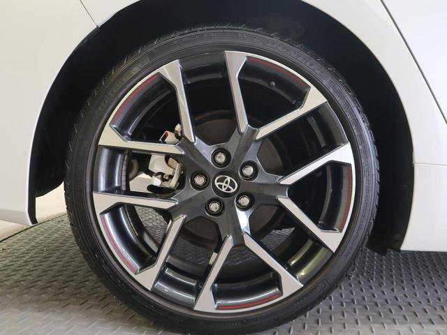 S GRスポーツ 9型BIG-X 禁煙車 バックカメラ LEDヘッド フォグ セーフティーセンス ハーフレザー シートヒーター スマートキー 純正18AW レーダークルーズ ETC 本革巻きステアリング(21枚目)