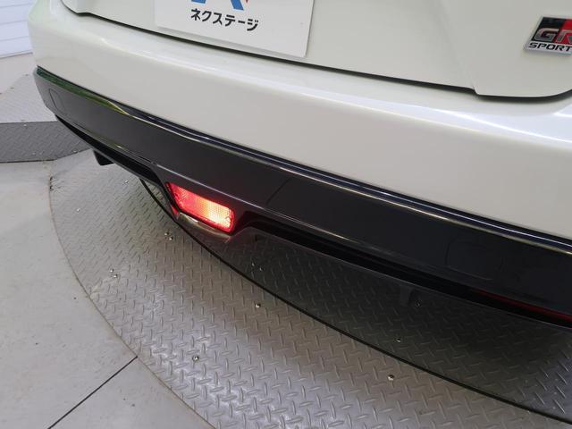 S GRスポーツ 9型BIG-X 禁煙車 バックカメラ LEDヘッド フォグ セーフティーセンス ハーフレザー シートヒーター スマートキー 純正18AW レーダークルーズ ETC 本革巻きステアリング(31枚目)