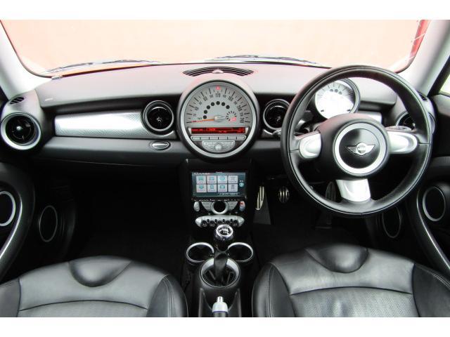 MINI MINI クーパーS 社外HDDナビ フルセグ 黒革シート 6MT