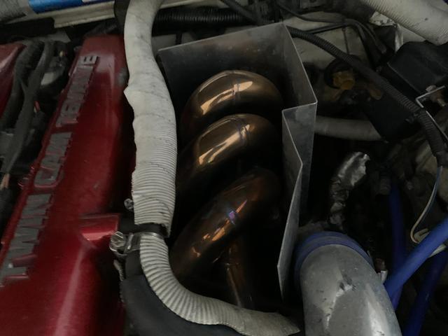 PS インタークーラーターボ MT5速 車高調 追加メーター サンルーフ 社外ECU ロールバー(10枚目)