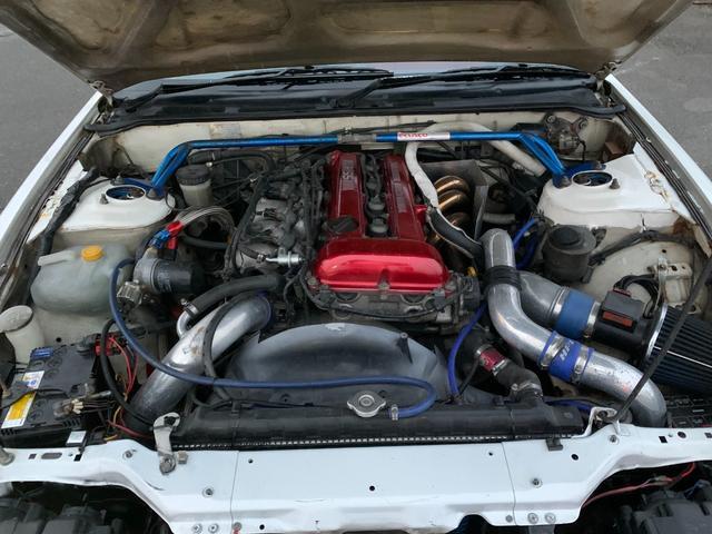PS インタークーラーターボ MT5速 車高調 追加メーター サンルーフ 社外ECU ロールバー(26枚目)