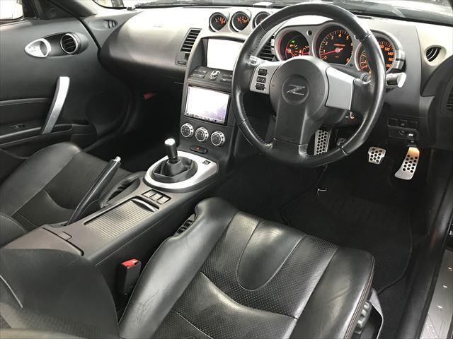 日産 フェアレディZ VerST SDナビTVニスモエアロ黒革マフラー6速MT