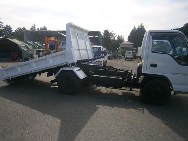 いすゞ エルフトラック 3.5t ローダースライド ダンプ