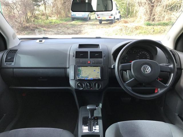 フォルクスワーゲン VW ポロ ベースグレード HDDナビ ETC キーレス