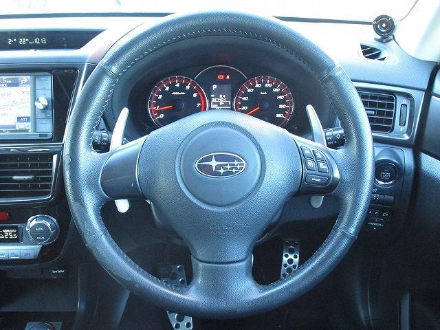 2.5iアイサイト Lパッケージ 4WD STIフロント・サイドリップスポイラー フルエアロ フリップダウンモニター プッシュスタート ETC ドライブレコーダー オートライト HID フォグランプ RAYS18インチAW 後期(10枚目)