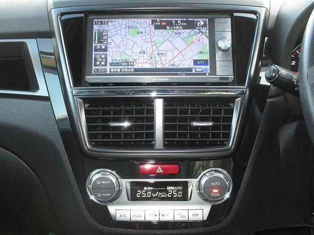 2.5iアイサイト Lパッケージ 4WD STIフロント・サイドリップスポイラー フルエアロ フリップダウンモニター プッシュスタート ETC ドライブレコーダー オートライト HID フォグランプ RAYS18インチAW 後期(17枚目)