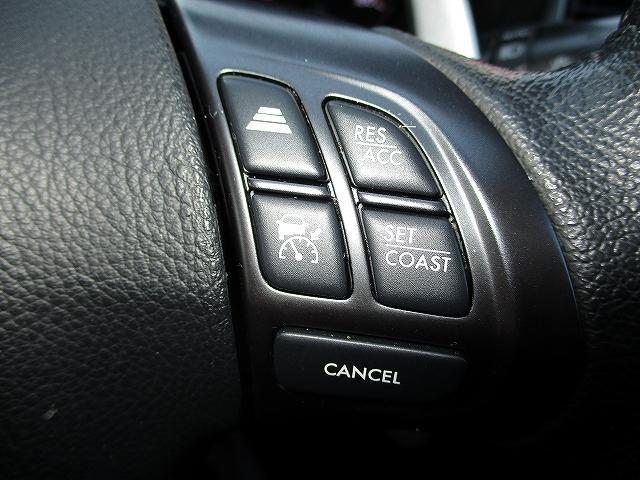 2.5iアイサイト Lパッケージ 4WD STIフロント・サイドリップスポイラー フルエアロ フリップダウンモニター プッシュスタート ETC ドライブレコーダー オートライト HID フォグランプ RAYS18インチAW 後期(21枚目)