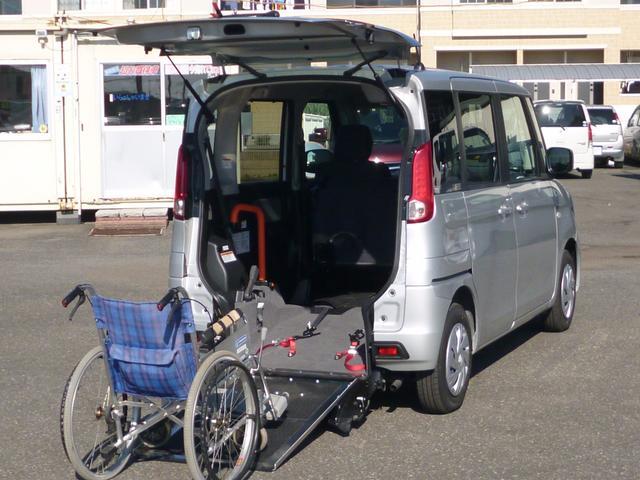 スズキ スペーシア X自動ブレーキAACウィズ車椅子スローパーETCスマートキー