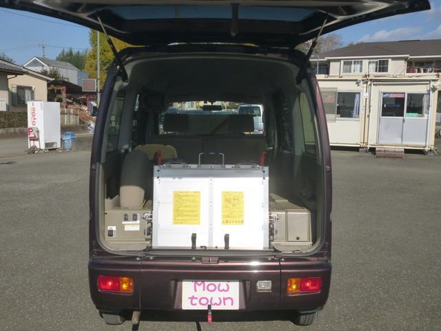 家で買えるスローパー4WDリア補助席付リモコン車椅子ウインチ(7枚目)