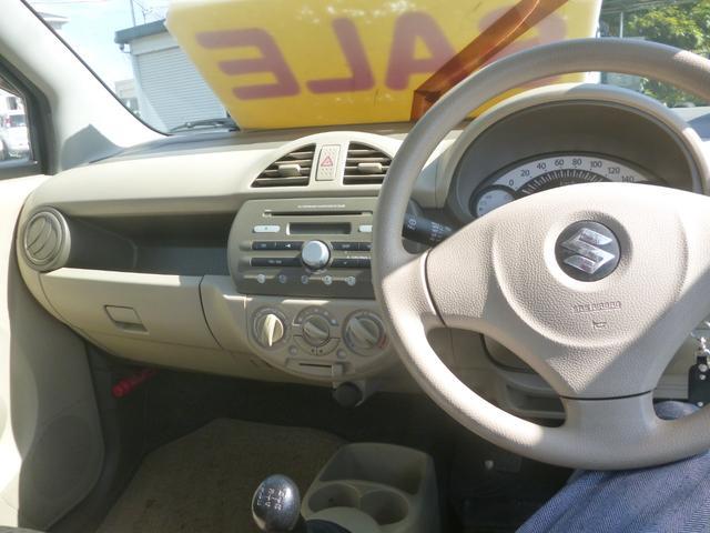 Fアンサーバックキーレス5速マニュアル車CDラジオデッキ(11枚目)