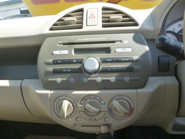 Fアンサーバックキーレス5速マニュアル車CDラジオデッキ(12枚目)